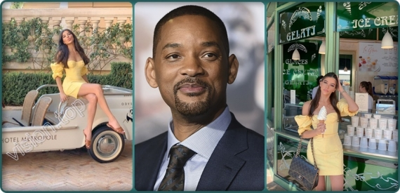 Sofia Symonds  .. هل ستواجه Will Smith ؟